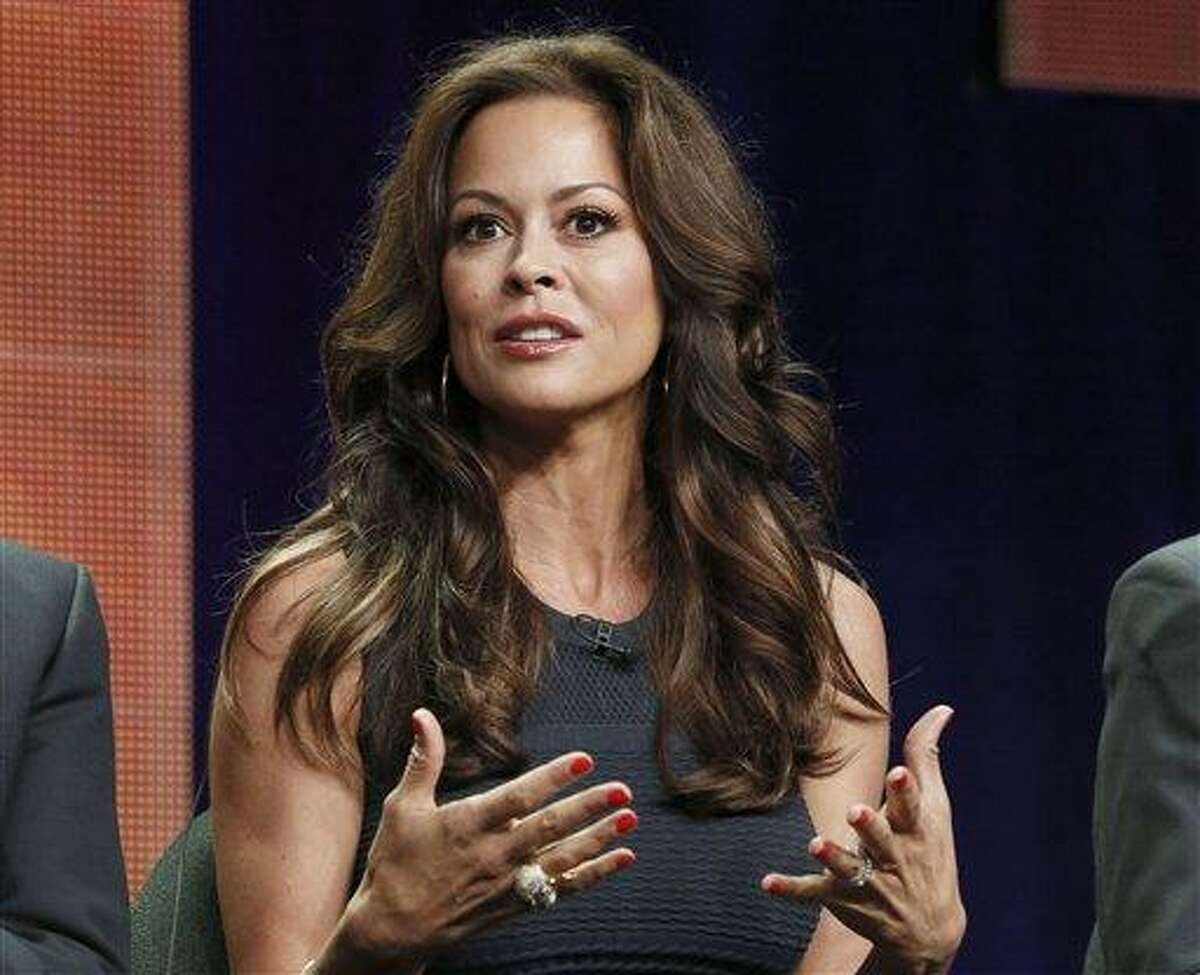 """TV host Brooke Burke-Charvet at the """"Dancing with the Stars: All Stars"""" panel July 27 at the Disney ABC TCA Day 2 in Beverly Hills, Calif. Burke has posted a video message on YouTube disclosing that she has thyroid cancer and her plans for surgery to remove her thyroid. Associated Press file photo"""