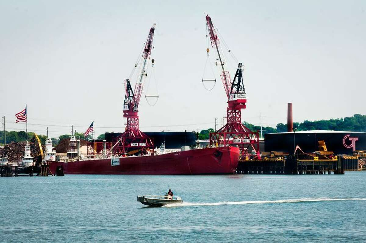 New Haven Port. Melanie Stengel/Register