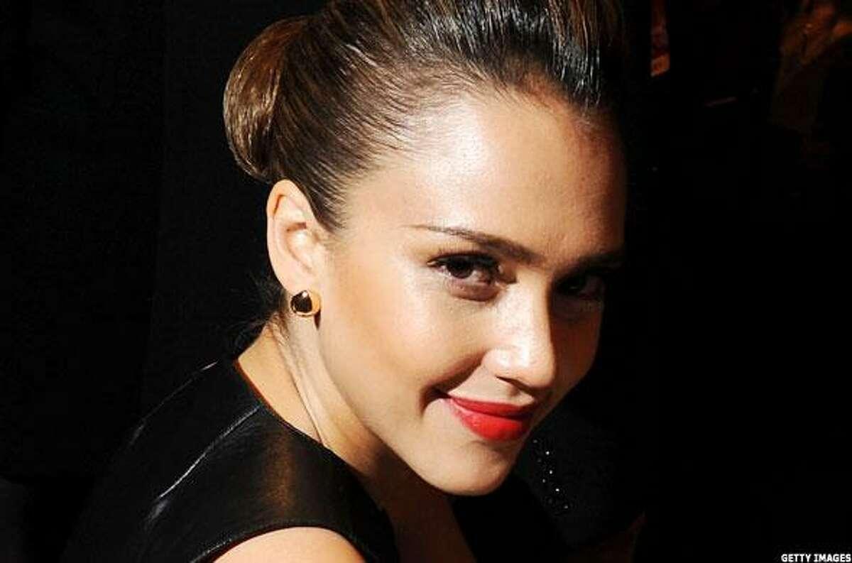 Actress Jessica Alba. (photo by Getty Images, via MainStreet.com)