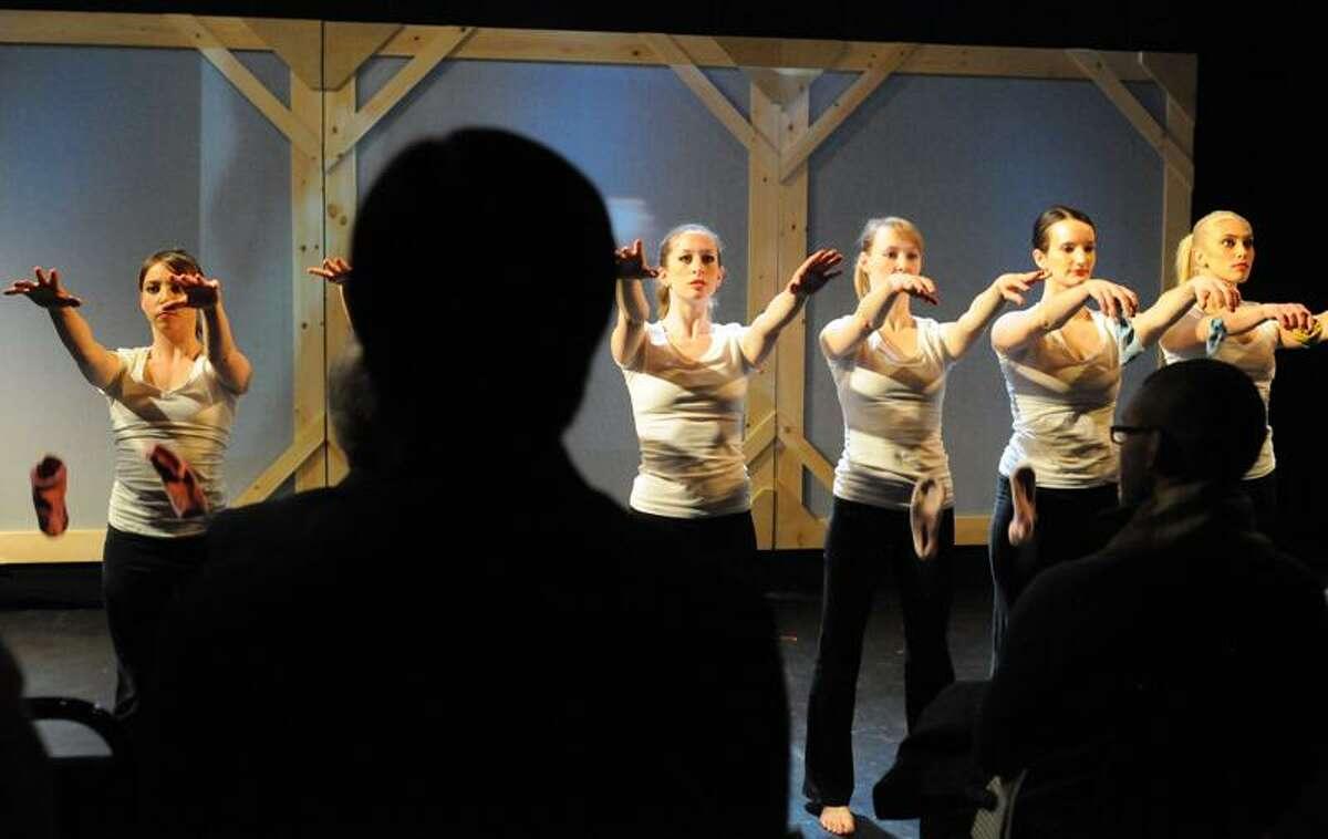 Exit 12 Dance Company dancers perform