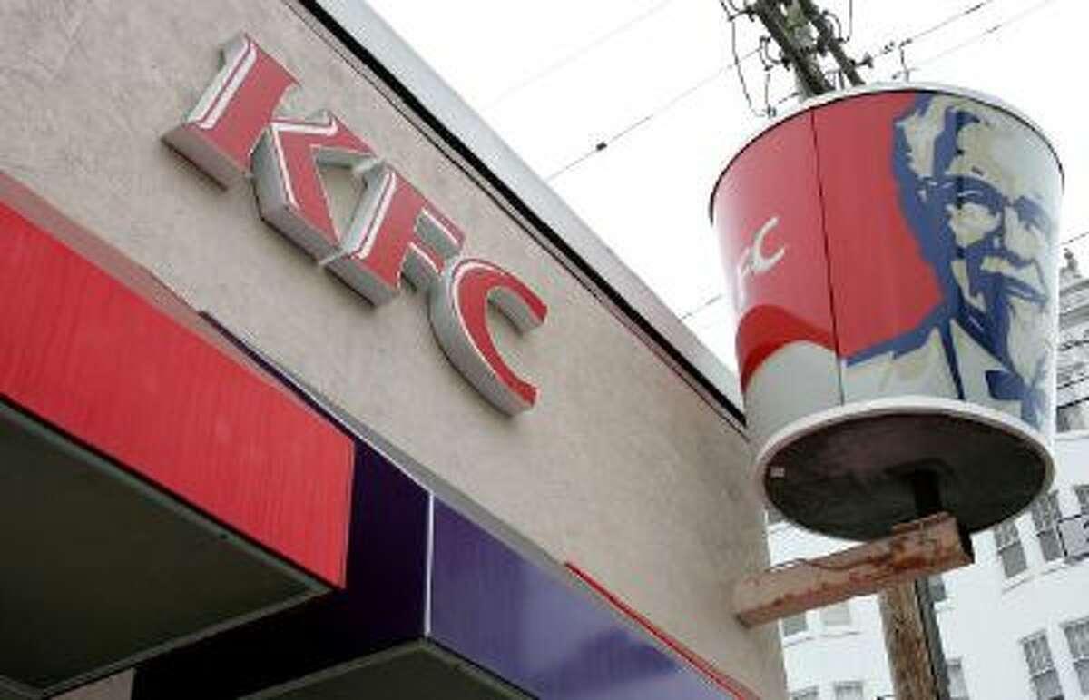 A KFC restaurant is shown October 30, 2006. (Justin/ Sullivan/Getty)
