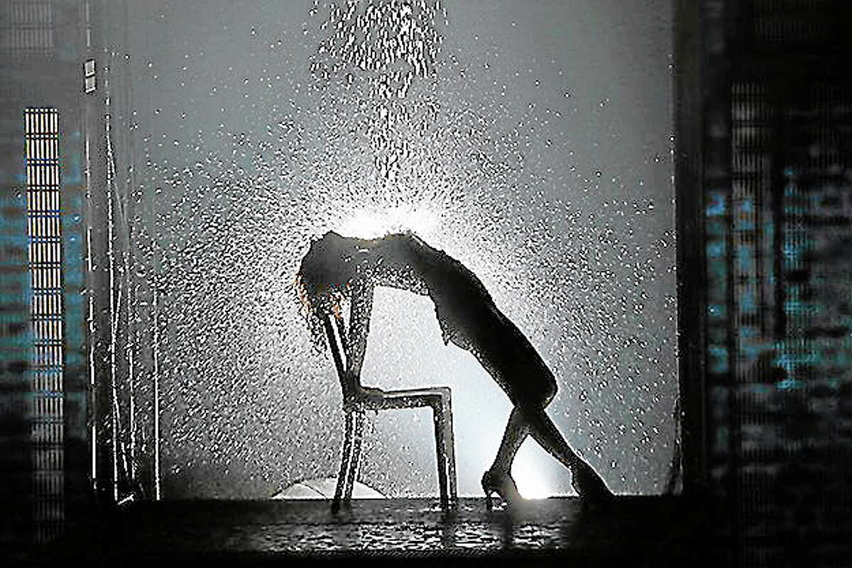 Submitted photo - Flashdance the MusicalJillian Mueller as Alex Owens in a scene from Flashdance the Musical, which will be performed at the Bushnell in Hartford.
