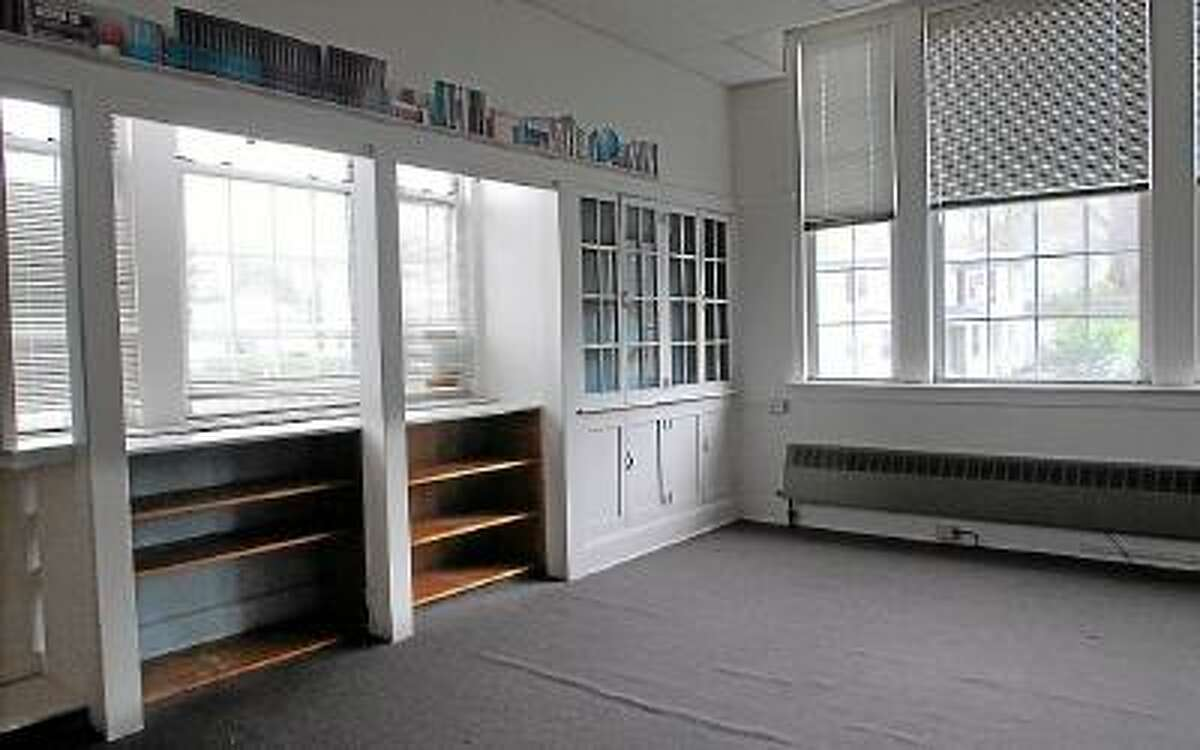 Catherine Avalone/The Middletown Press Interior of Eckersley Hall, future art and crafts room