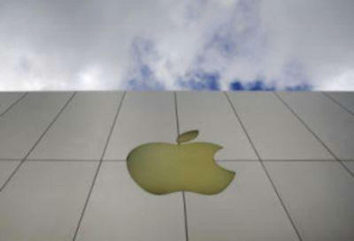 The Apple logo is seen on an Apple store in San Francisco. (AP Photo/Russel A. Daniels, File)