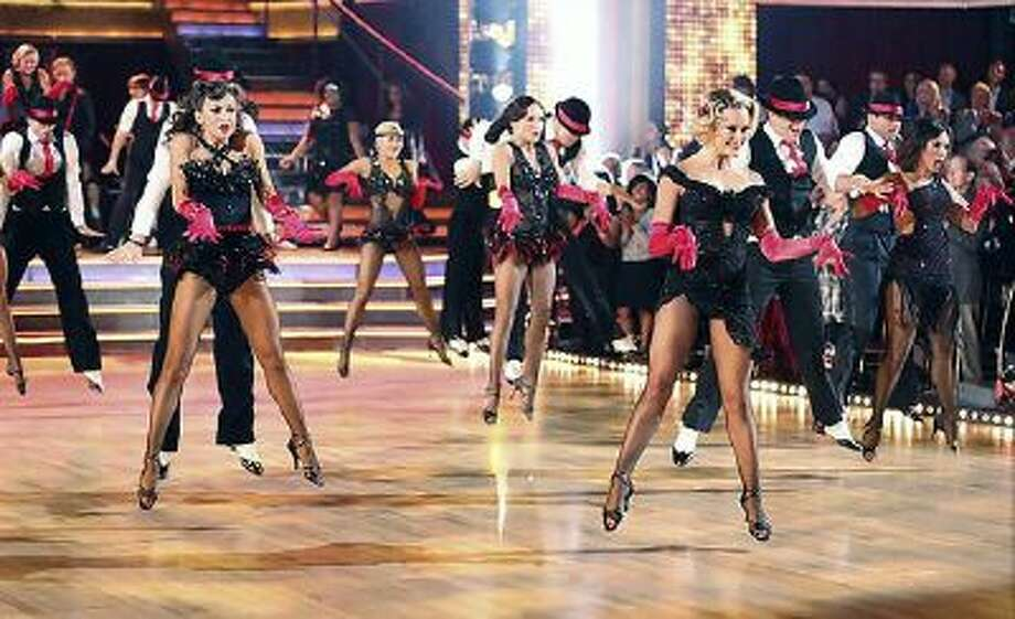 Cast members perform at the start of 'Dancing with the Stars' on Monday, September 30, 2013. / © 2013 American Broadcasting Companies, Inc. All rights reserved.