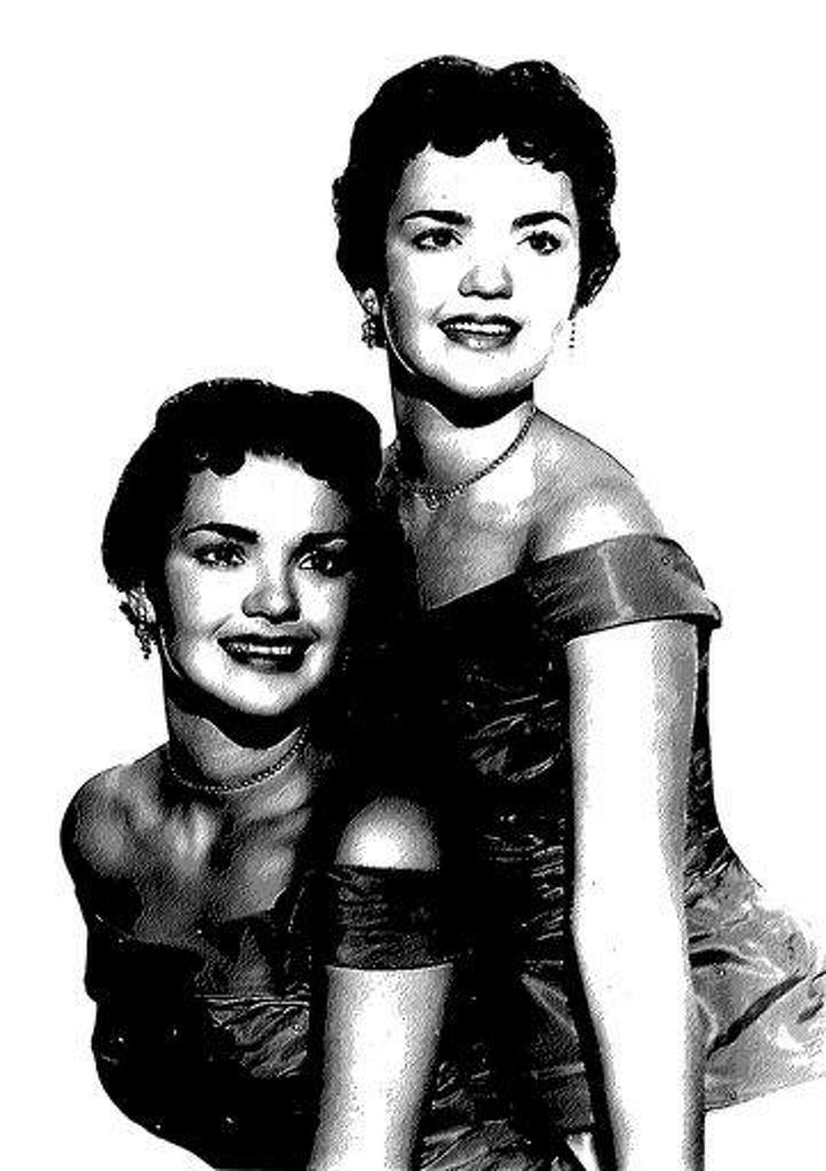 This undated copy of a photo provided by the El Dorado County Sheriff's Office shows twin sisters Patricia and Joan Miller. It is unknown which sister is which. Associated Press