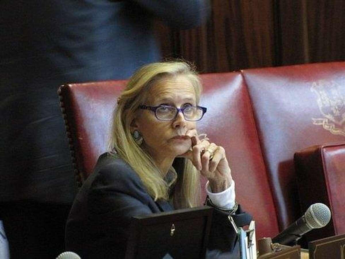 Sen. Joan Hartley. Hugh McQuaid/CT NewsJunkie