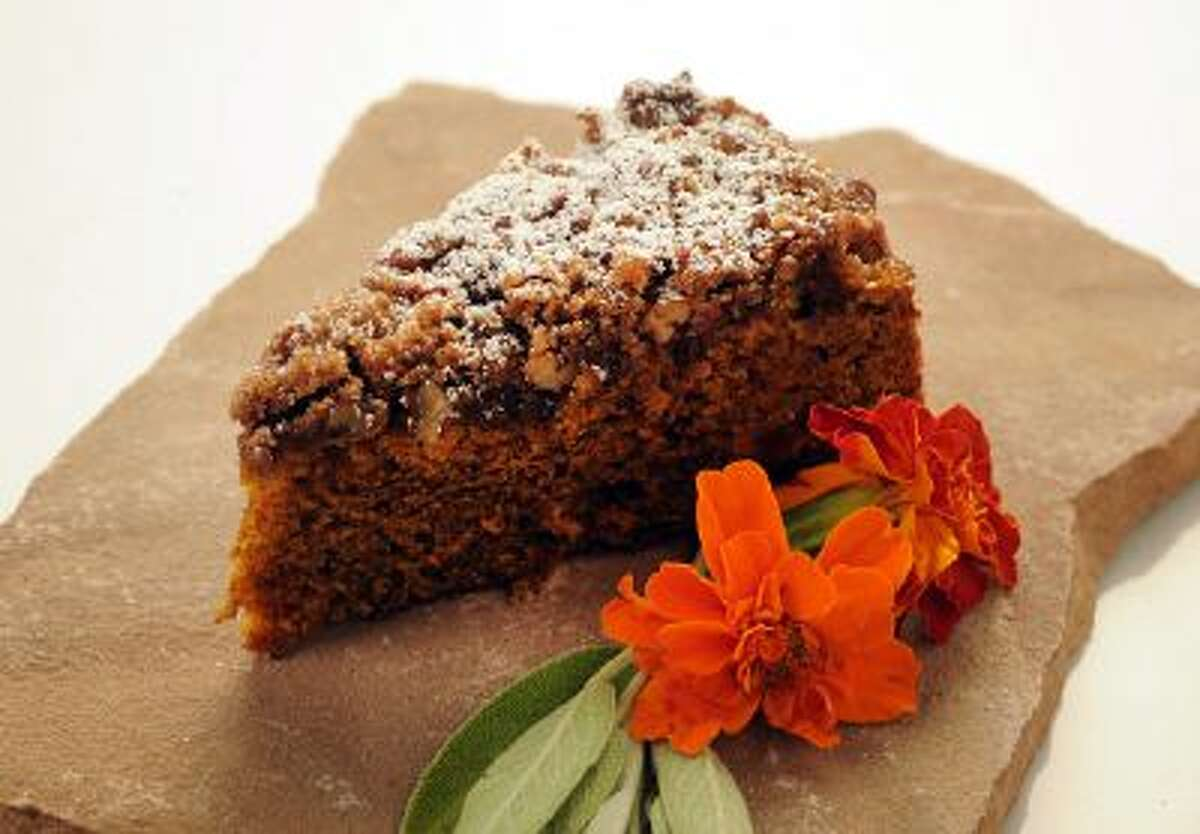 Pumpkin Spiced Coffeecake, photographed in Walnut Creek, Calif., on Wednesday, Oct. 9, 2013.