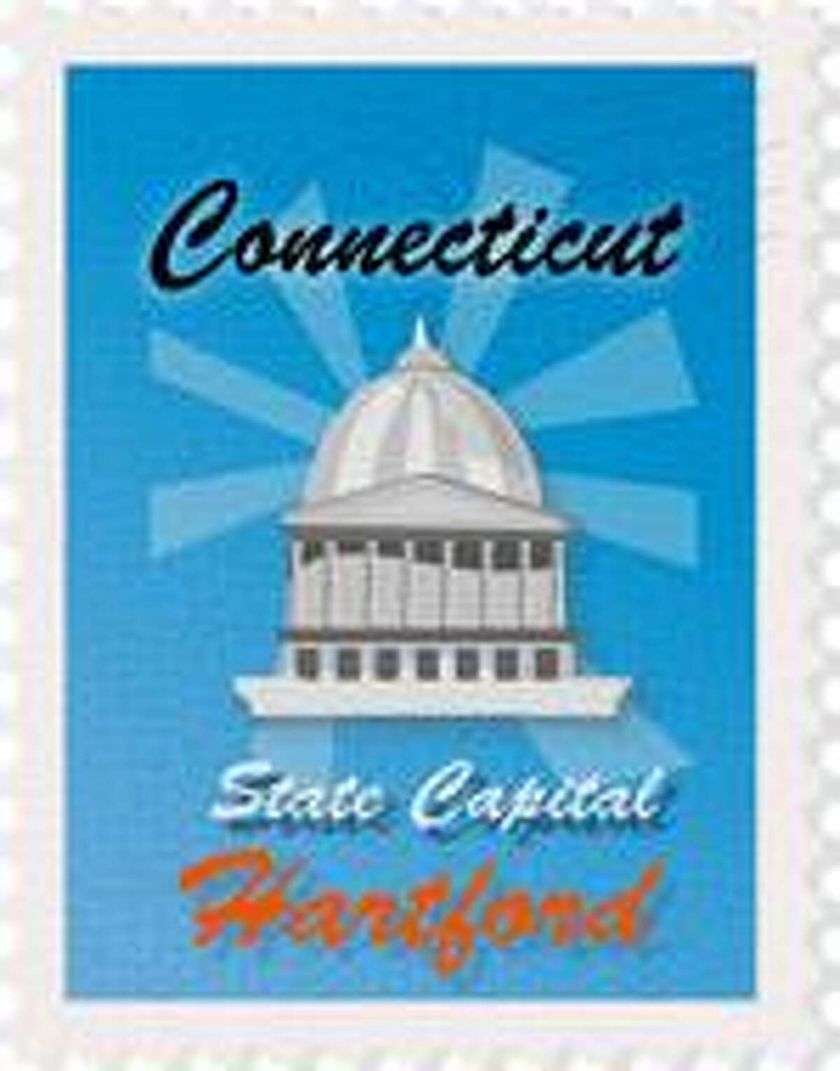 Hartford Connecticut State Capital Clipart