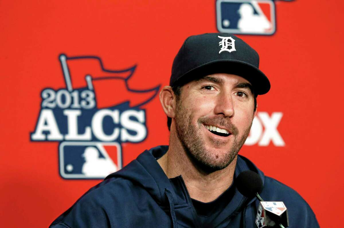 Justin Verlander will get the start in Game 3 of the ALCS against the Red Sox on Tuesday.