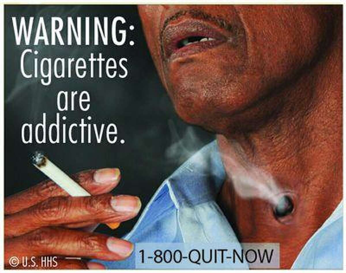 A graphic of cigarette packaging released by the U.S. Food and Drug Administration June 21, 2011. A varied collection of dead bodies, diseased lungs and a man on a ventilator were among the graphic images for revamped U.S. tobacco labels, unveiled by health officials who hoped the warnings will help smokers quit. (Reuters/U.S. Food and Drug Administration/Handout)