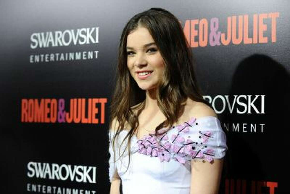 """Actress Hailee Steinfeld attends the premiere of """"Romeo And Juliet"""" at ArcLight Hollywood on September 24, 2013 in Hollywood, Calif."""