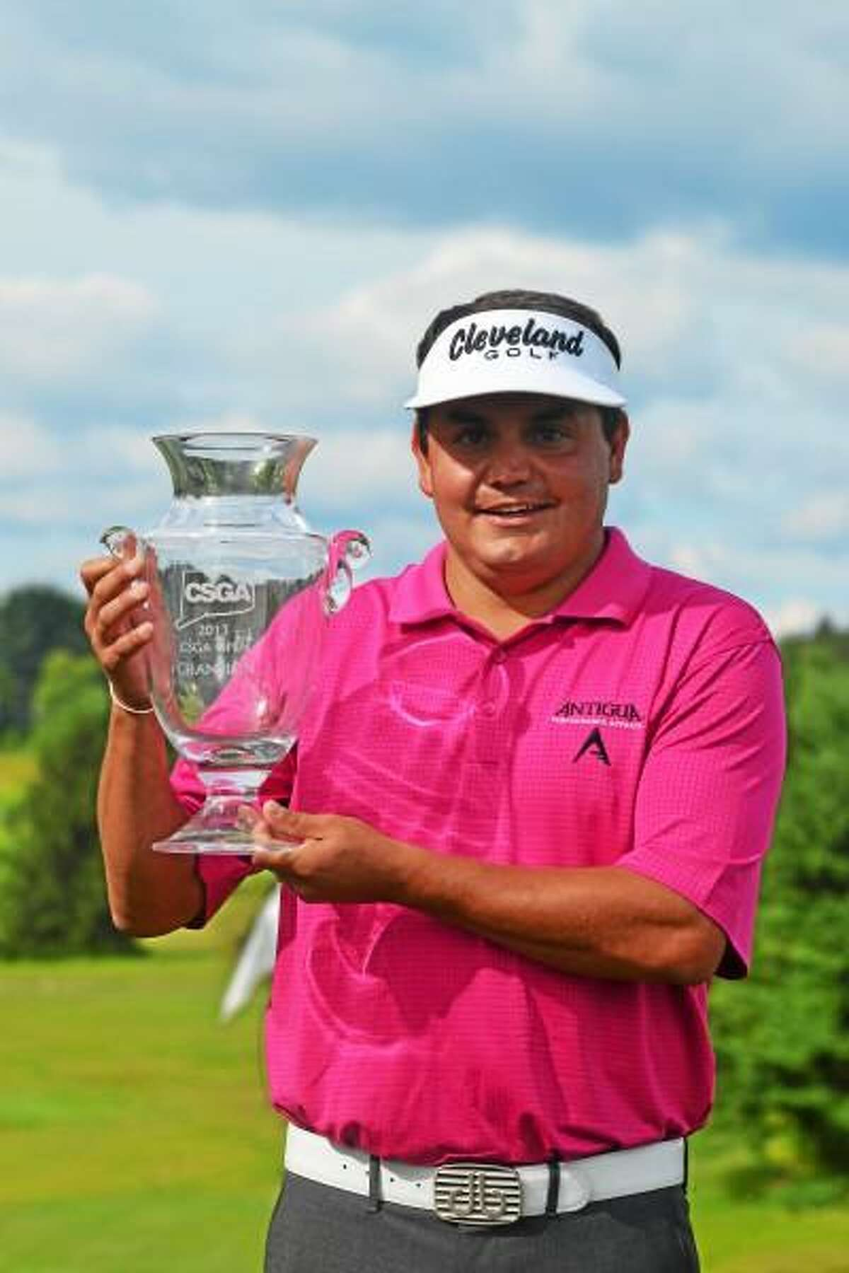 Jeff Curl wins the 79th Connecticut Open after shooting a 209 during the three day tournament that ended in a four-way playoff, which Curl won on the first hole. Pete Paguaga - Register Citizen