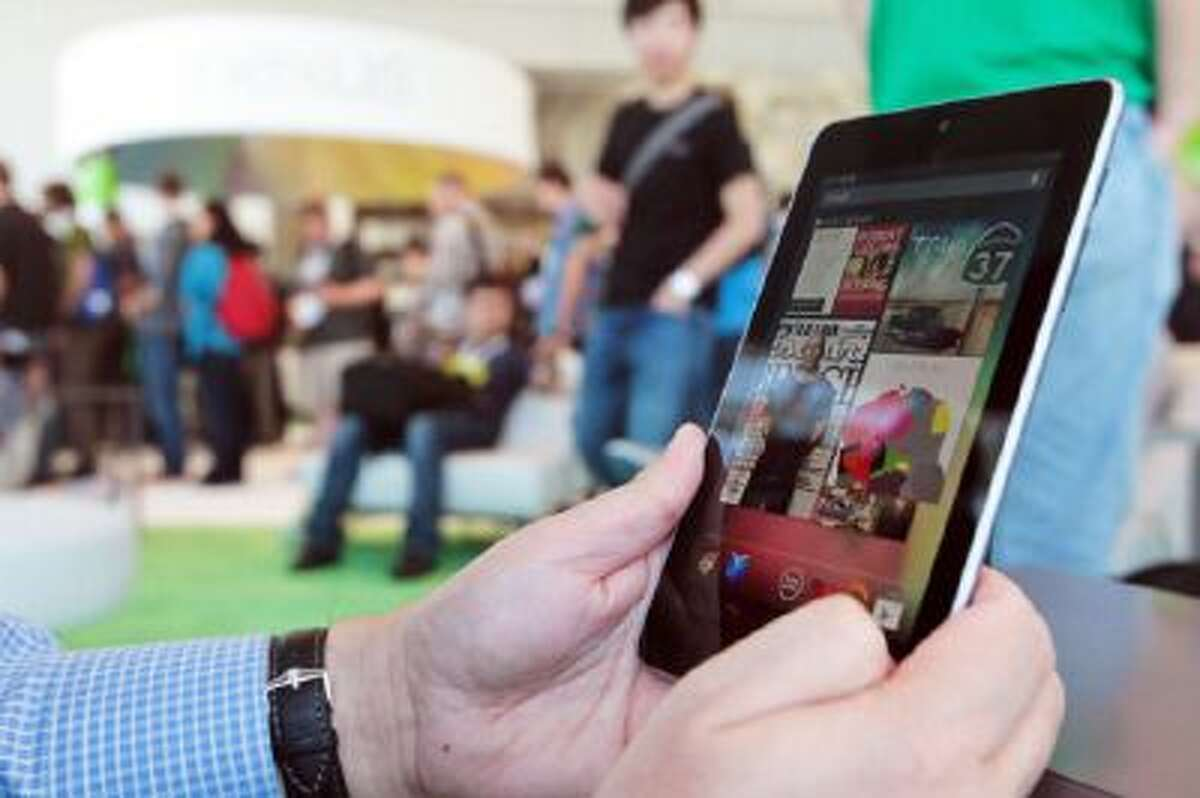 The Nexus 7 is Google's first tablet, utilizing a 7-inch screen and Tegra 3 quad-core processor.