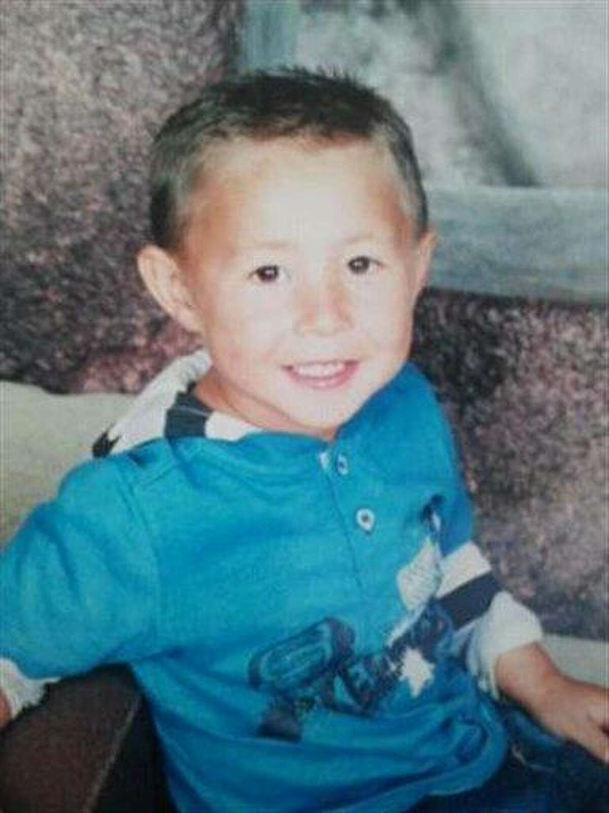 This image provided by the New Mexico State Police shows 4-year-old Samuel Jones in an undated photo. Associated Press