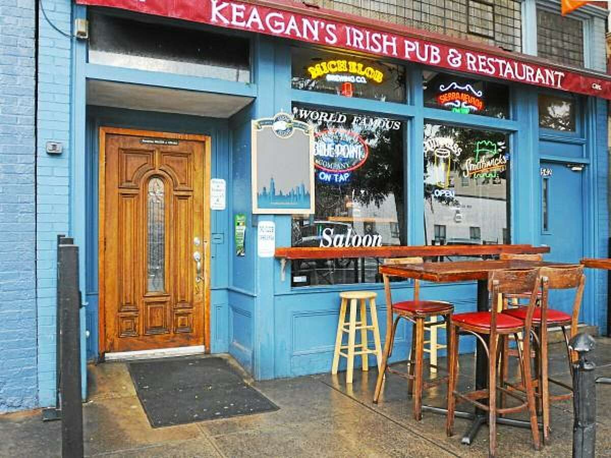 Keagan's Irish Pub & Restaurant, formerly Hair of The Dog Saloon, at 544 Main Street in Middletown. Catherine Avalone - The Middletown Press