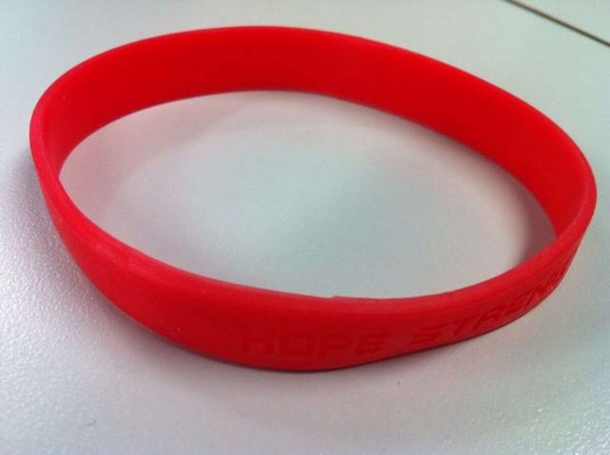 These bracelets will be sold to support the cause.