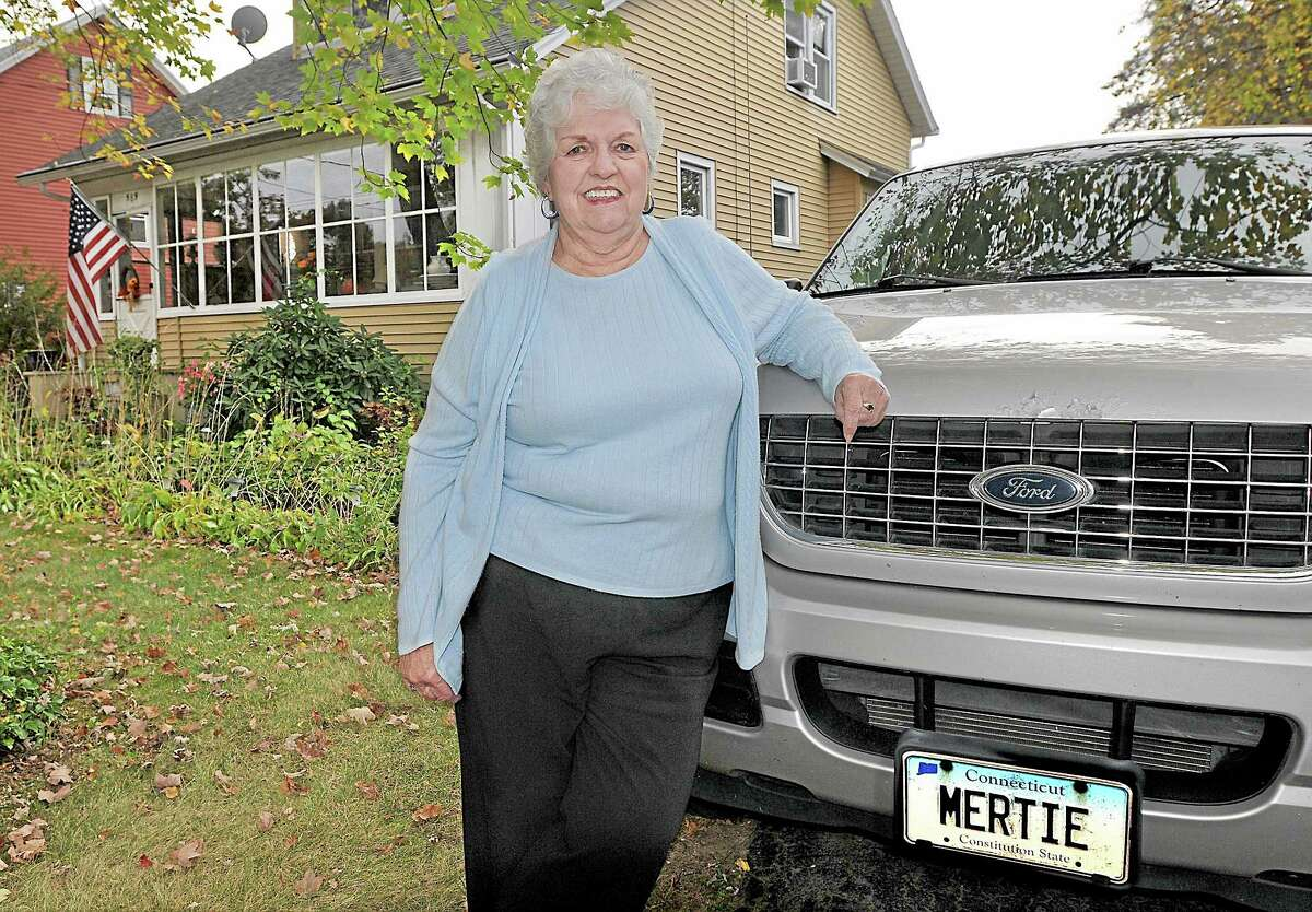 """Mertie Terry has the distinction of being the last first selectman for the town of Cromwell. Terry said, """"I was raised in foster homes and now I am the epitome of the American dream."""" Catherine Avalone - The Middletown Press"""