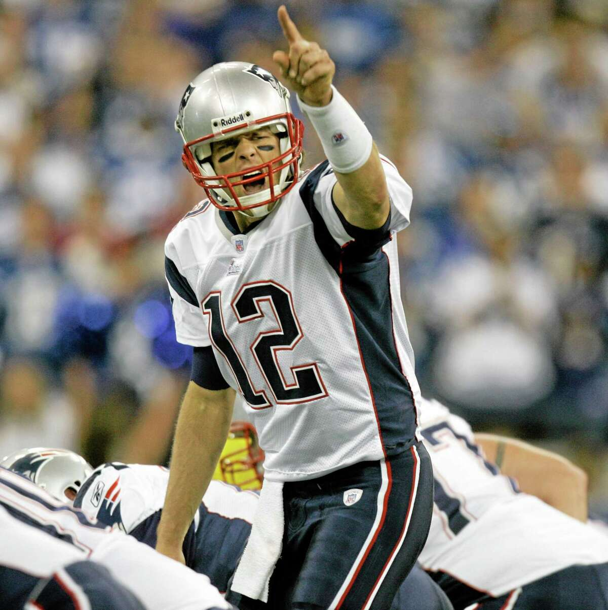 Tom Brady and the Patriots will try to bounce back from their first loss of the season Sunday against the Saints.