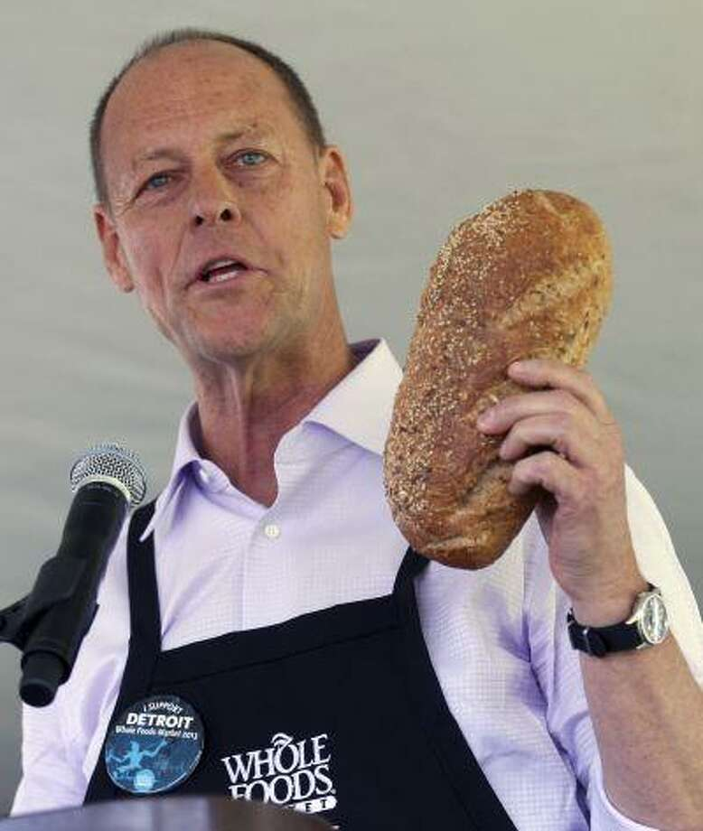 Whole Foods Market Inc's Co-chief Executive Walter Robb. Photo: REUTERS / X00064