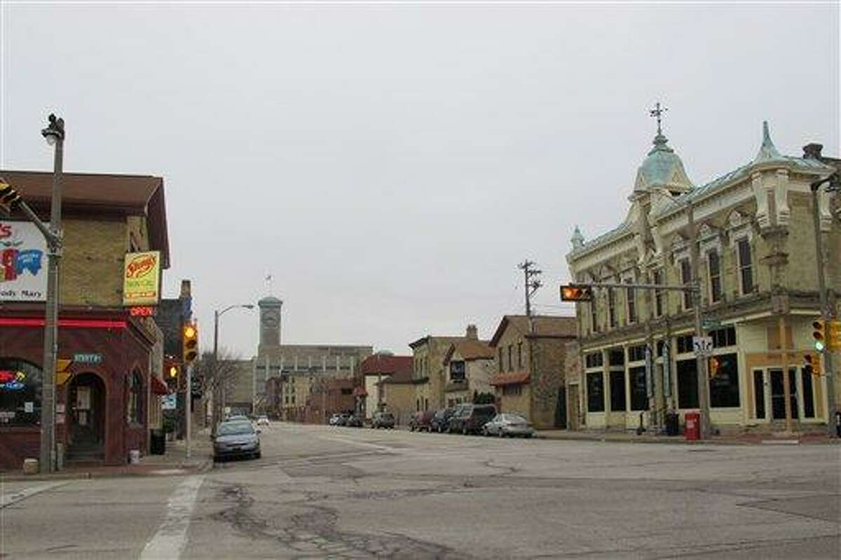 This photo, taken Thursday, shows the Walker's Point neighborhood in Milwaukee where a marketing company is organizing a walking tour of bars where serial killer Jeffrey Dahmer hunted his victims. But some in the community think it's too soon for such a tour and are calling it insensitive. Associated Press
