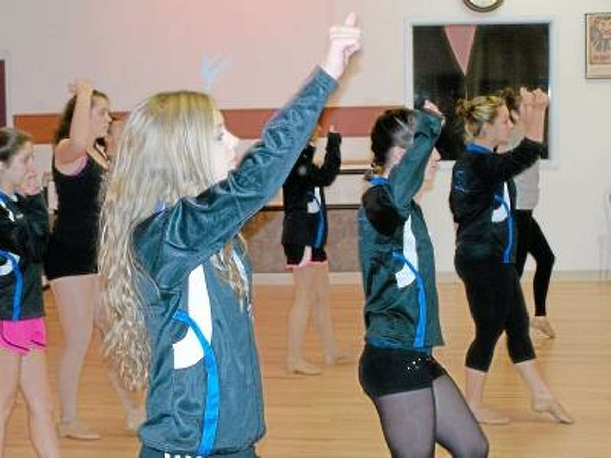 Kaitlyn Mentlick, 16, of Durham is one of 12 students from Stage Left Dance Studio traveling to Miami to perform at the Orange Bowl's halftime event on New Year's Day.