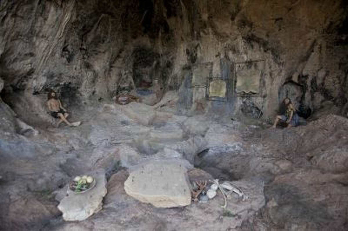 This stone age recycling site cave at the north of Israel is part of mounting evidence that hundreds of thousands of years ago, our prehistoric ancestors learned to recycle daily objects, say researchers gathered here for an international conference.
