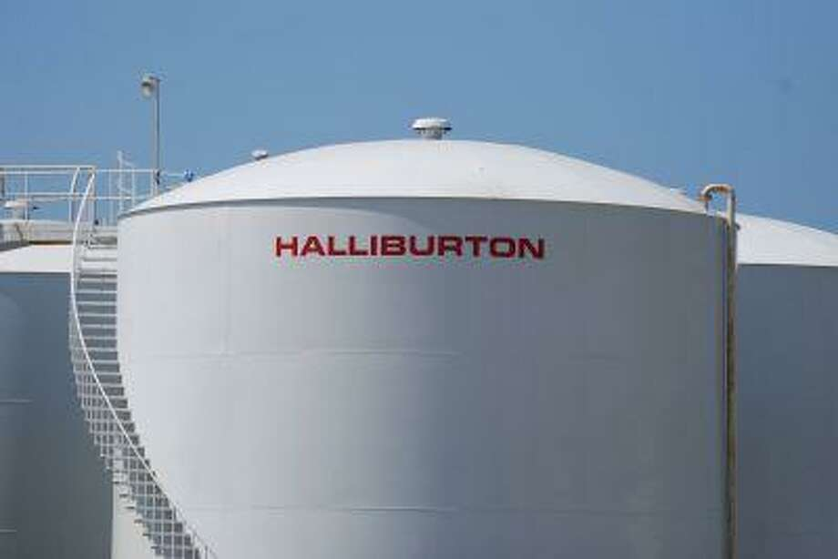 A Halliburton facility in Port Fourchon, Louisiana is seen on April 8, 2011. Photo: AFP/Getty Images / 2011 AFP