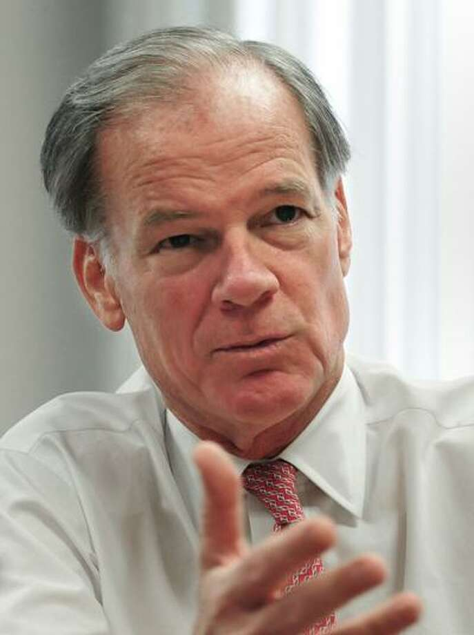 Tom Foley conceded the governors race to Malloy. Brad Horrigan