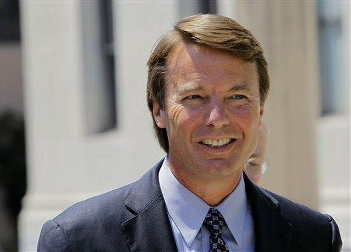 John Edwards Associated Press