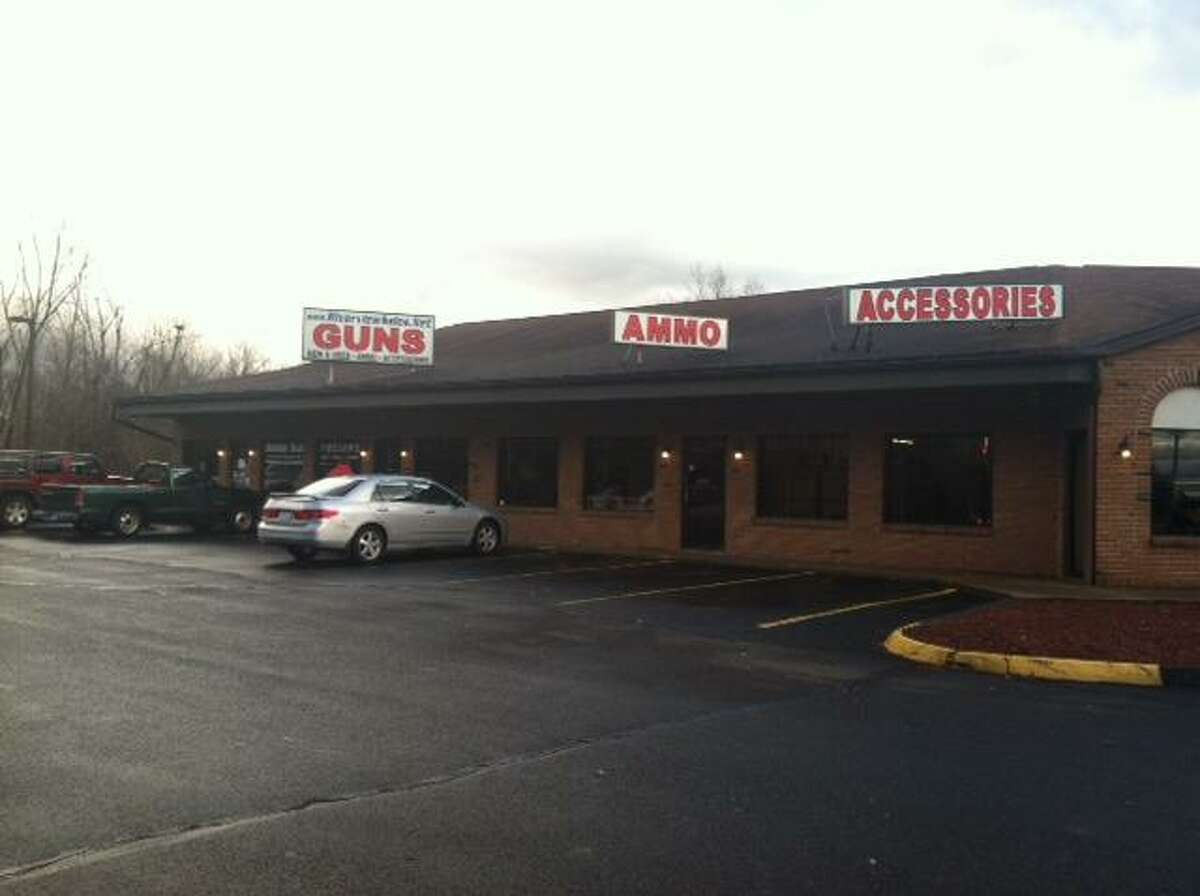 Store where Lanza's mother bought weapons.