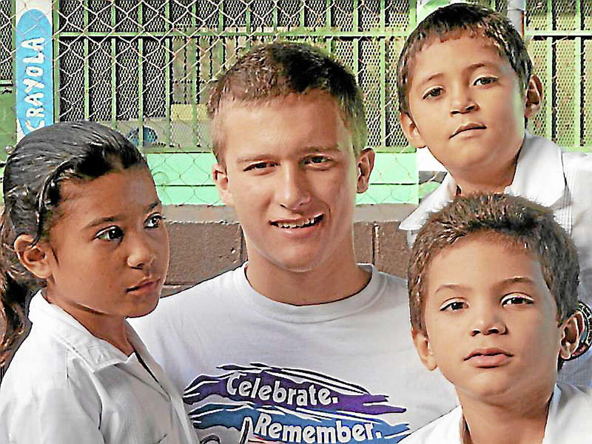 Honduras Children's Project PhotoCharlie Proctor with children from the Honduras Children's Project.