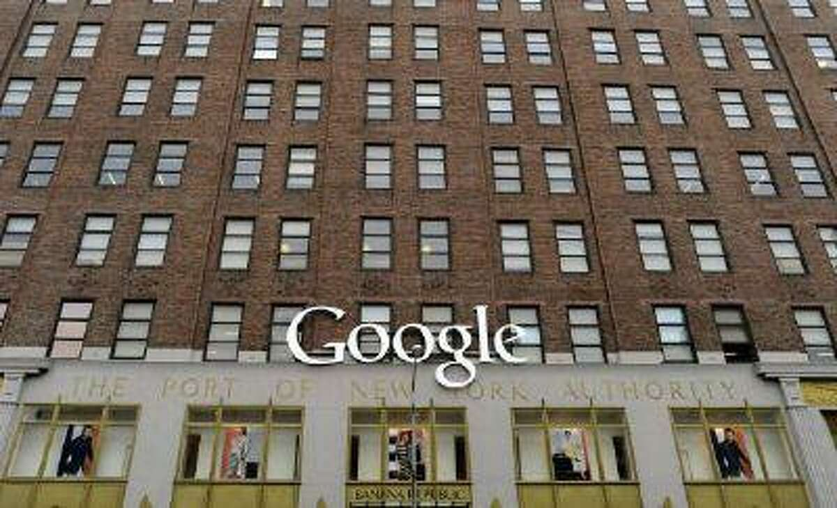 Google's NYC headquarters on 8th Avenue in New York.