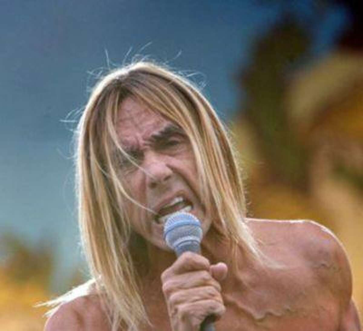 Iggy Pop performed songs from his new record,