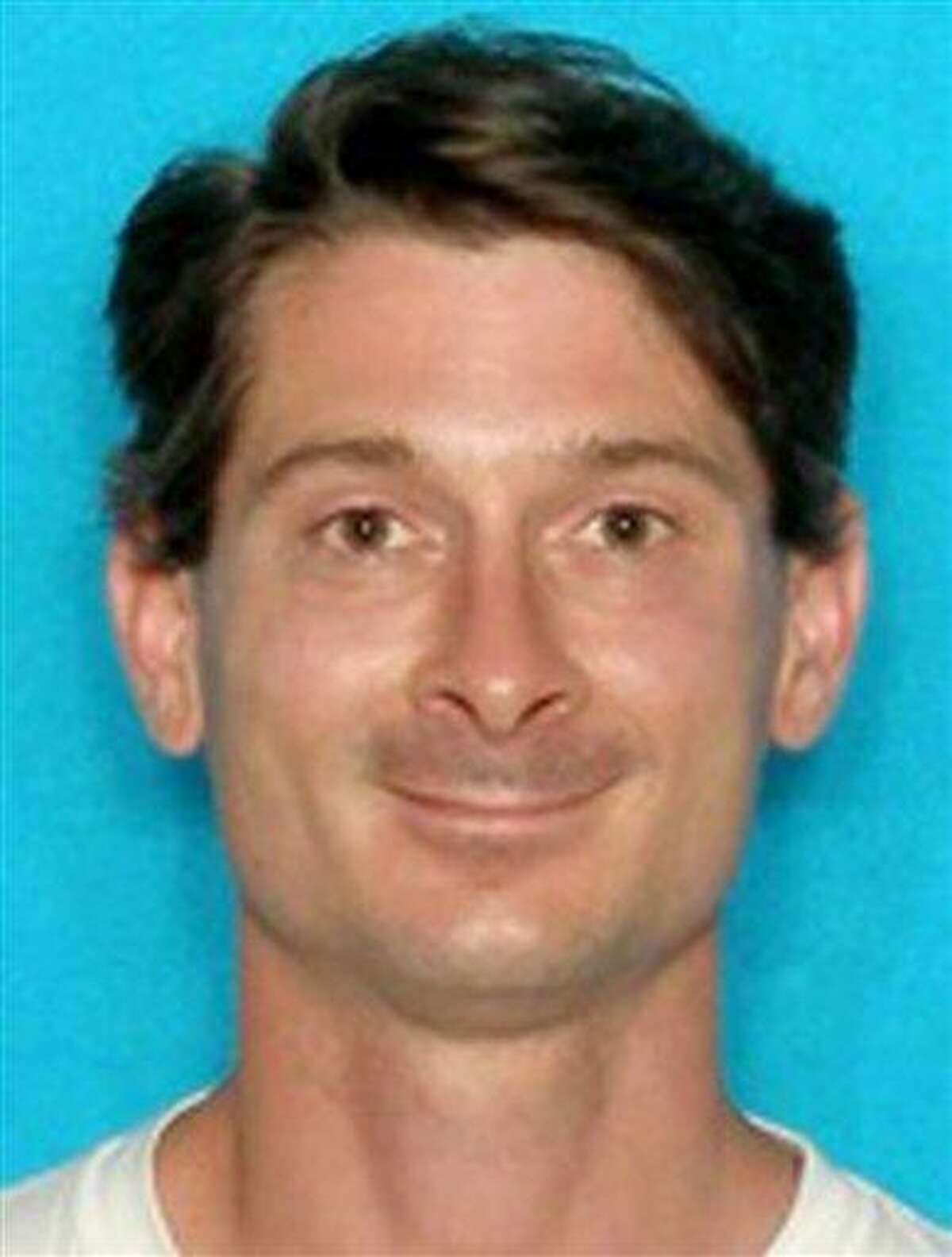 This undated photo provided by the City of College Station, Texas shows Thomas Caffall. Caffall, 35, has been identified by authorities as the shooter who opened fire from inside his home in College Station as he was being served an eviction notice, killing Brazos County constable Brian Bachmann and another man on Monday. Associated Press