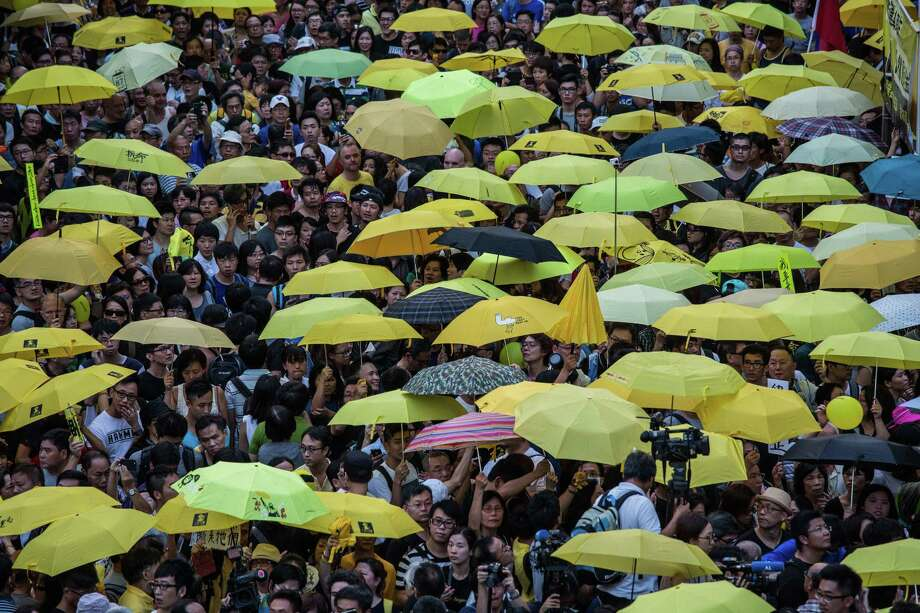 Hong Kong's jailed Umbrella Movement leaders