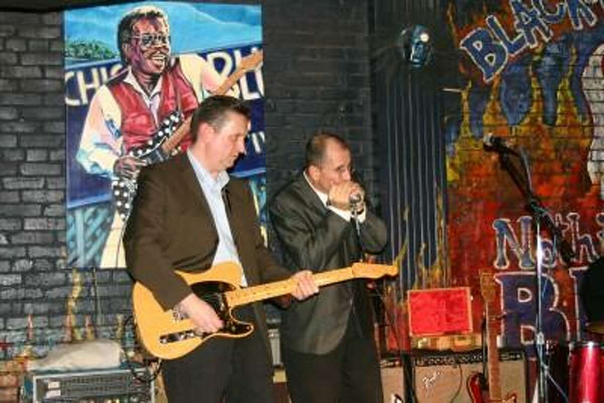 The D Smith Blues Band will be at the Meriden Daffodil Festival this weekend.