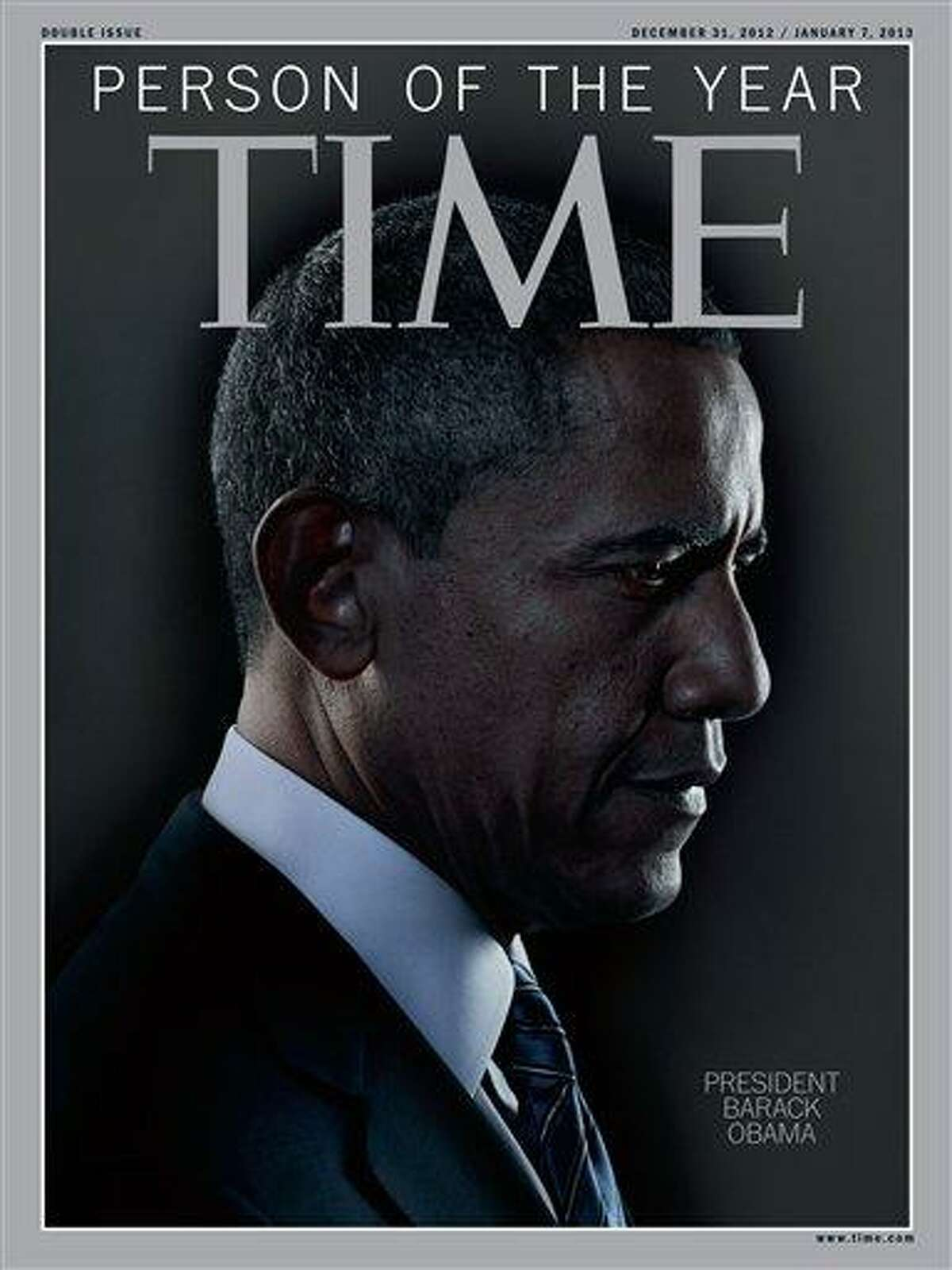 """President Barack Obama is Time Magazine's Person of the Year. The selection was announced Wednesday on NBC's """"Today"""" show. The short list for the honor included Malala Yousafzai, the Pakistani teenager who was shot in the head for advocating for girls' education. It also included Egyptian president Mohamed Morsi, Apple CEO Tim Cook and Italian physicist Fabiola Giannati. Obama also received the honor in 2008, when he was President-elect. Last year, """"The Protester"""" got the honor. AP Photo/Time Magazine"""