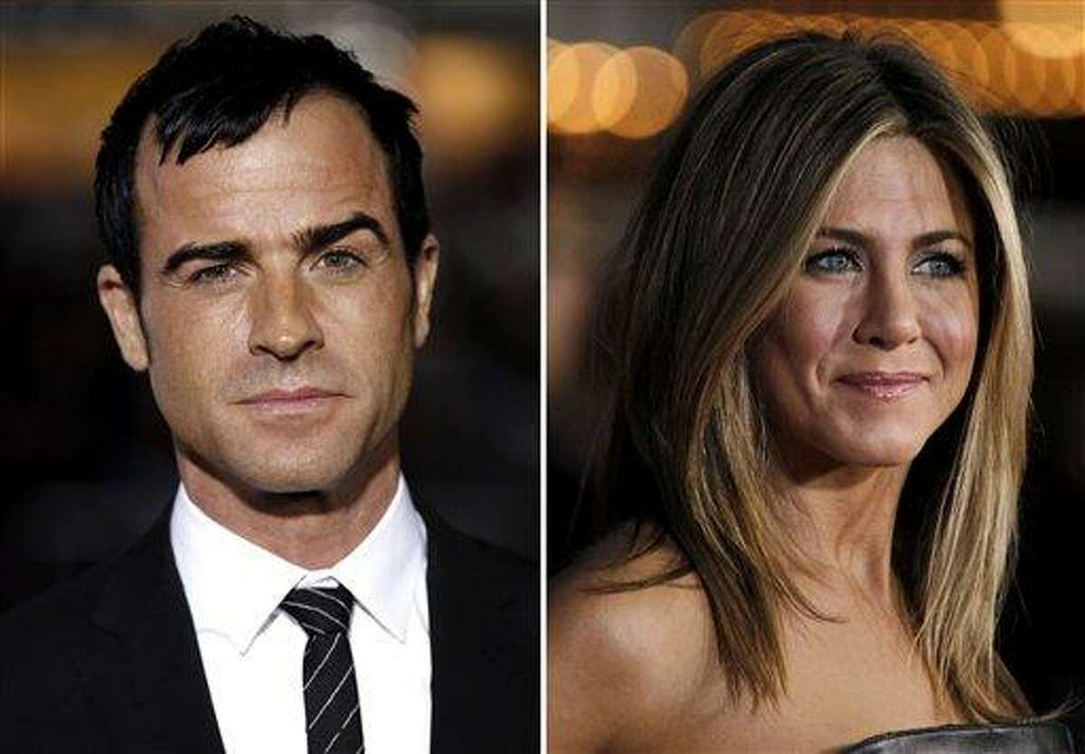 Jennifer Aniston rep, Stephen Huvane, confirmed Sunday to The Associated Press that Justin Theroux and the actress are engaged. It was first reported by People.com. Associated Press file photos