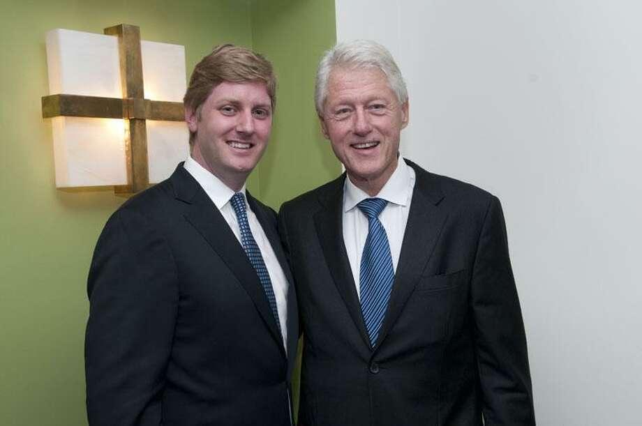 Dan Roberti and Bill Clinton