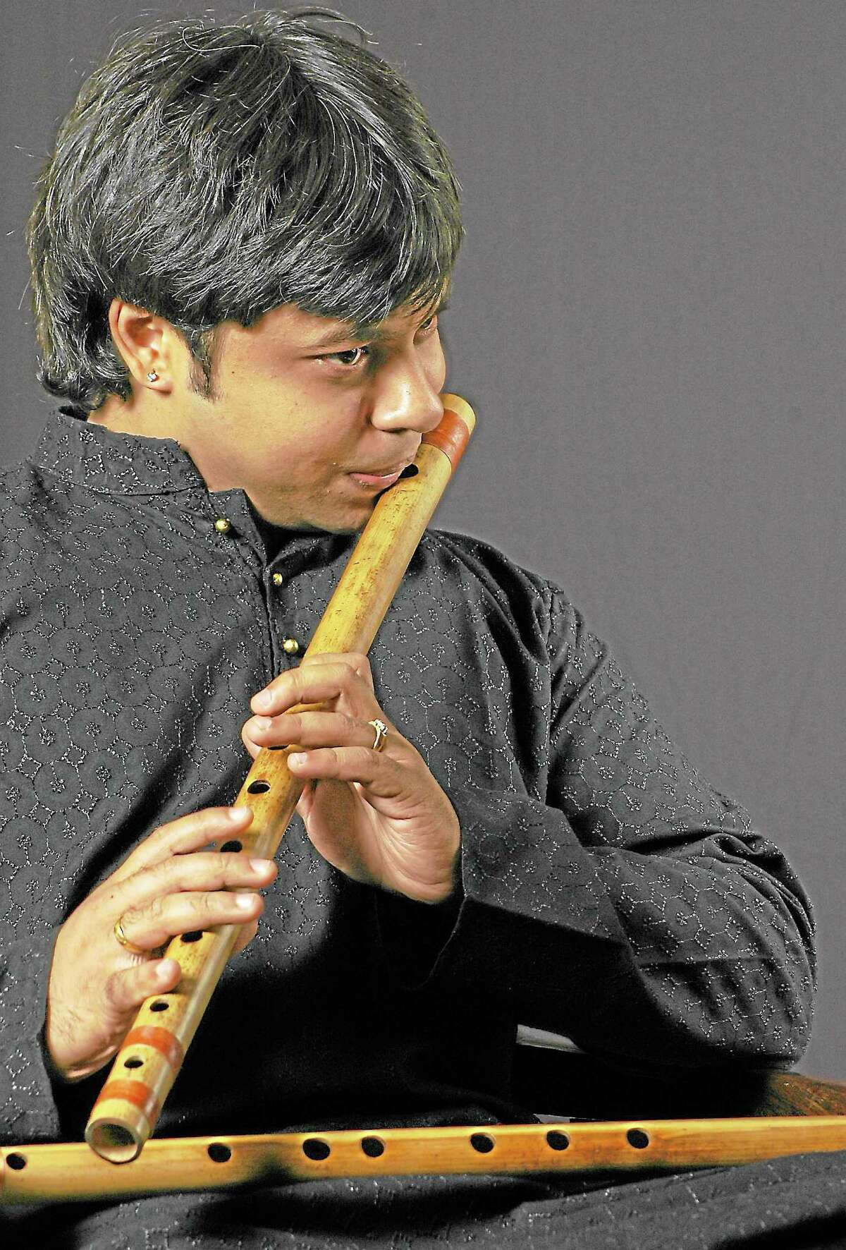 Submitted photo - Shashank Subramanyam/CFA is considered one of the best bamboo flute artists in Indian classical music. His performance is Saturday, Oct. 12 in Crowell Concert Hall at Wesleyan University.