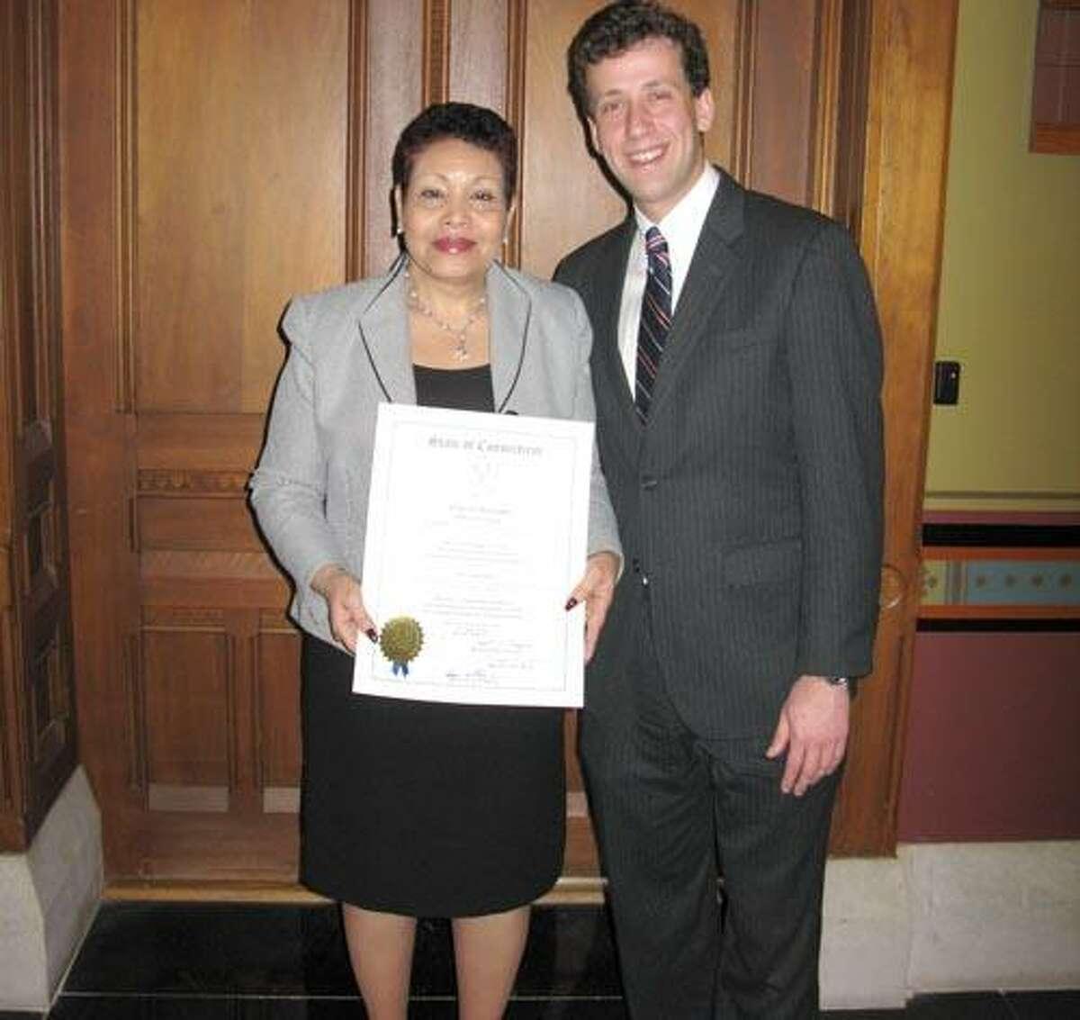 Rosa Browne with Matt Lesser
