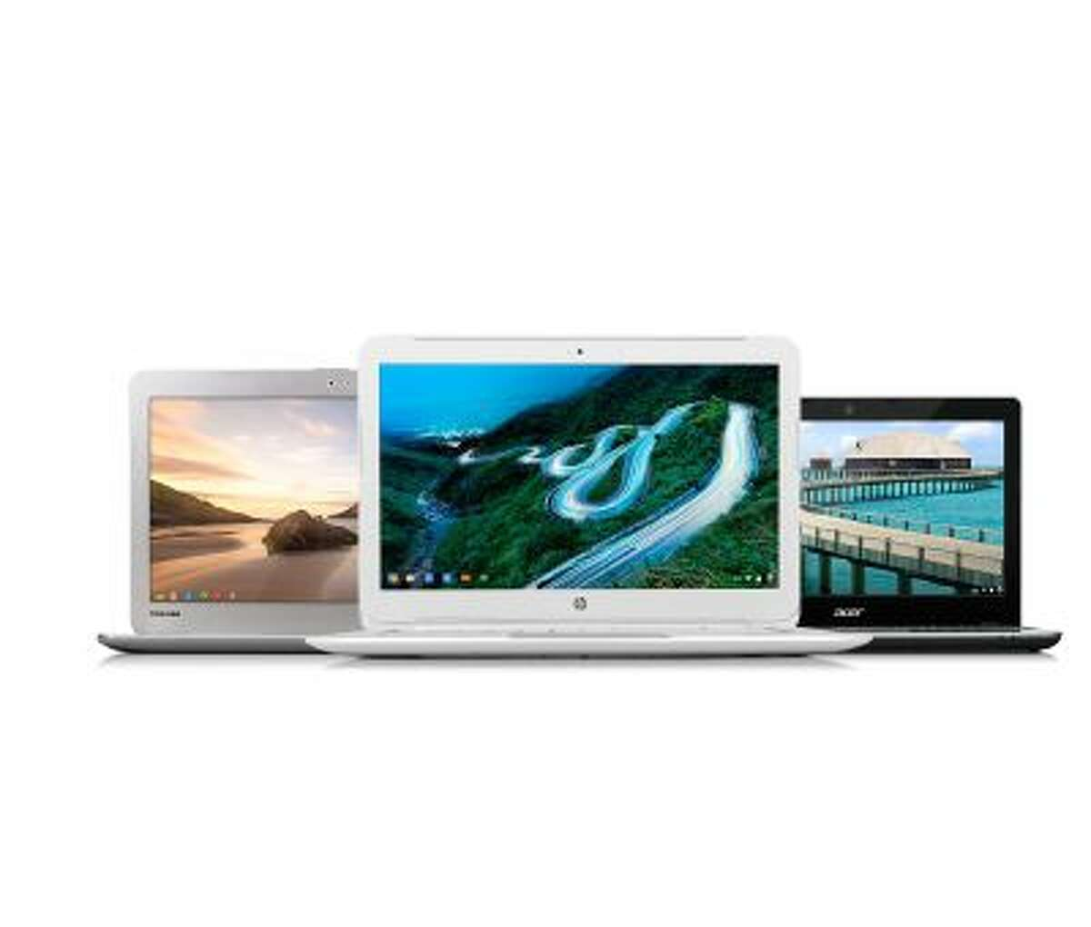 New Google Chromebooks. Asus, Toshiba, Acer and HP have all announced new Chromebook computers.