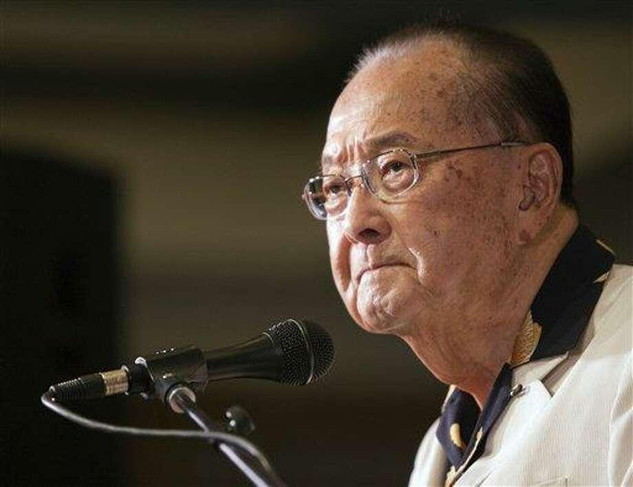 U.S. Sen. Daniel Inouye. Associated Press file photo Photo: AP / FR132415 AP