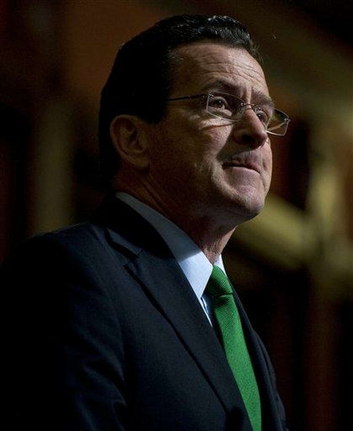 Gov. Dannel P. Malloy speaks Feb. 8 at the State Capitol in Hartford. The Connecticut legislature has voted to repeal the state's death penalty, and the Democratic governor is expected to sign it into law. That would make the state the 17th to end capital punishment. Associated Press