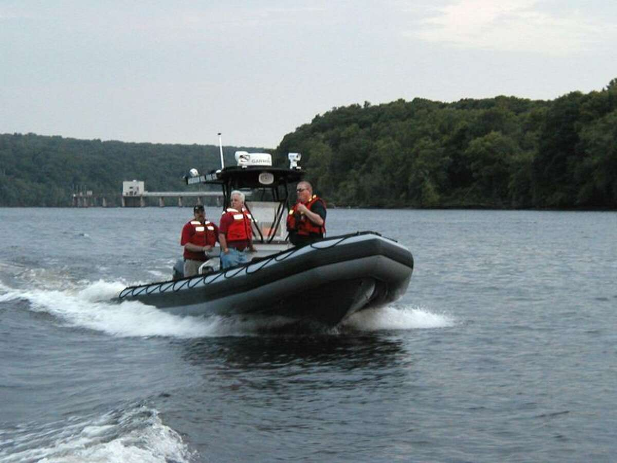 Submitted photo Haddam Fire Department's 24-foot Zodiac rescue boat.