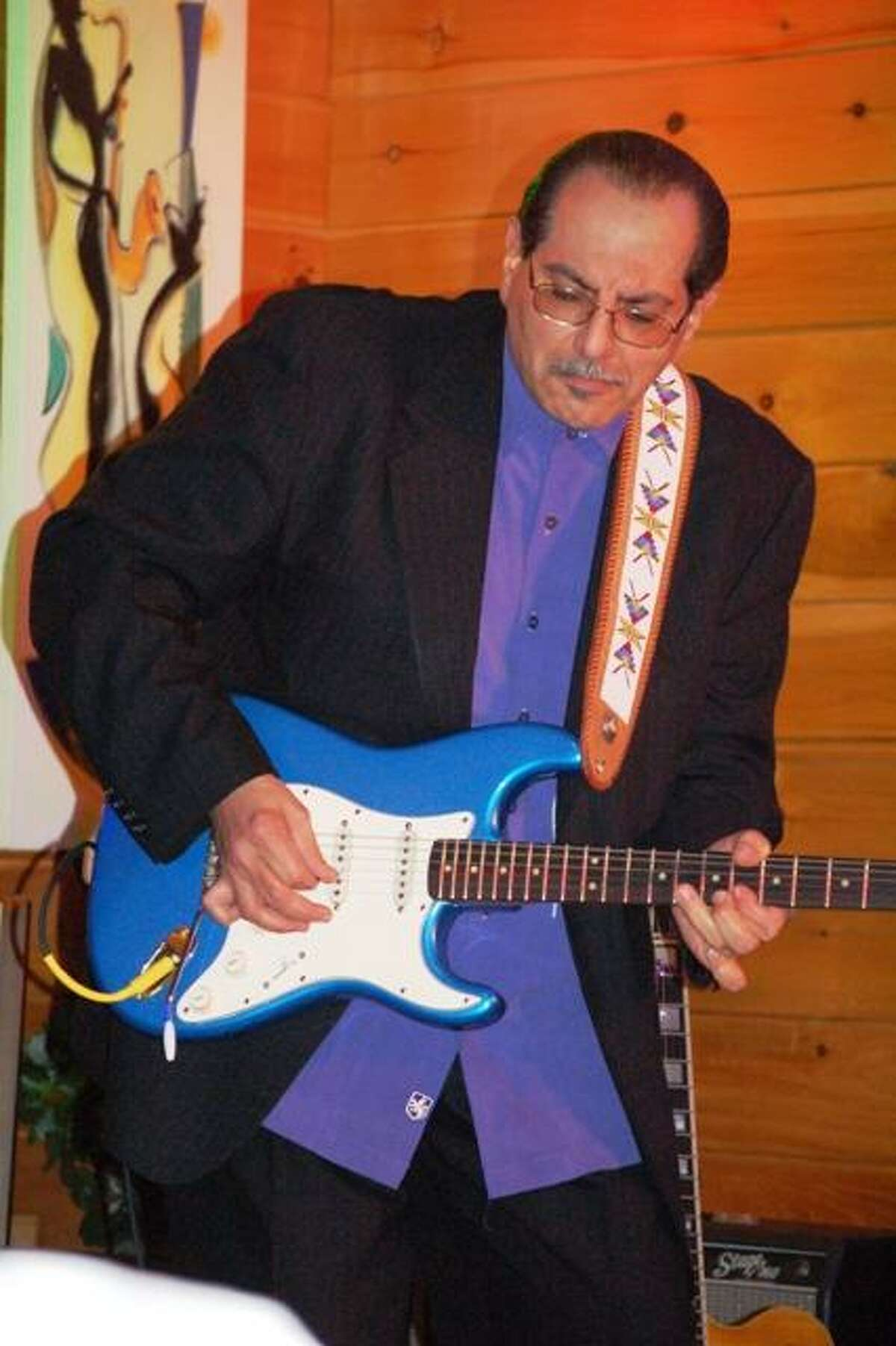 Paul Gabriel & his Blues Band will open the Blues Blizzard.
