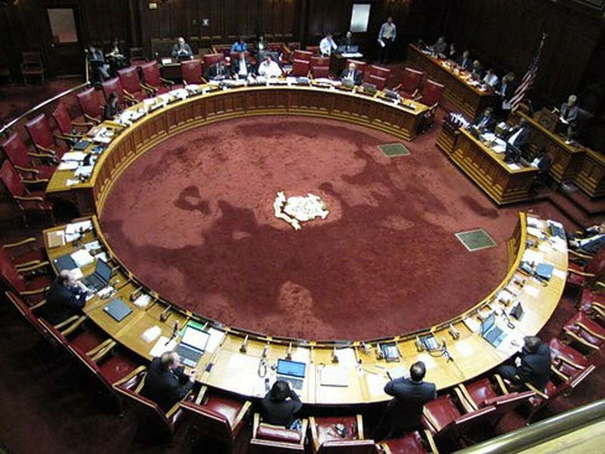 The Senate chamber. Hugh McQuaid Photo
