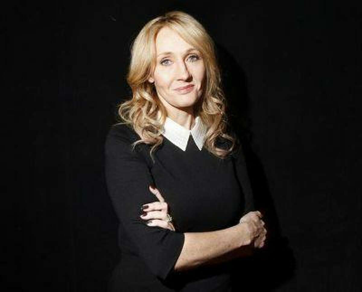 """Author J.K. Rowling poses for a portrait while publicizing her adult fiction book """"The Casual Vacancy"""" at Lincoln Center in New York October 16, 2012. REUTERS/Carlo Allegri"""