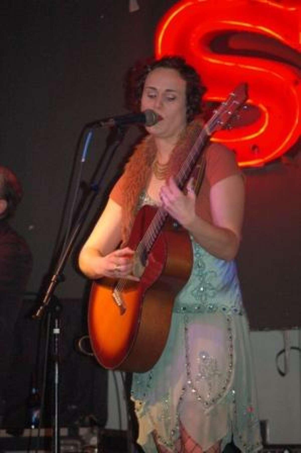 Erin Harpe at Theodores' this Saturday